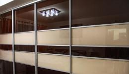 drzwi sówane szkło lacobel
