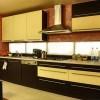 Kuchnie na wymiar Będzin - kuchnia z podświetleniem