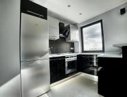 Kuchnie na wymiar Będzin - kuchnia czarno szara