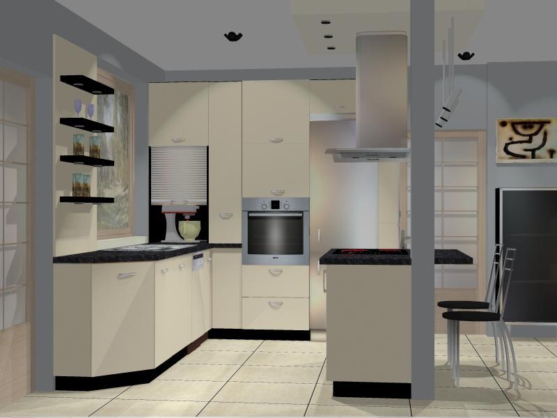 Projekty  Meble kuchenne śląsk – Drewdom Kuchnie Będzin   -> Kuchnia Kremowa Matowa