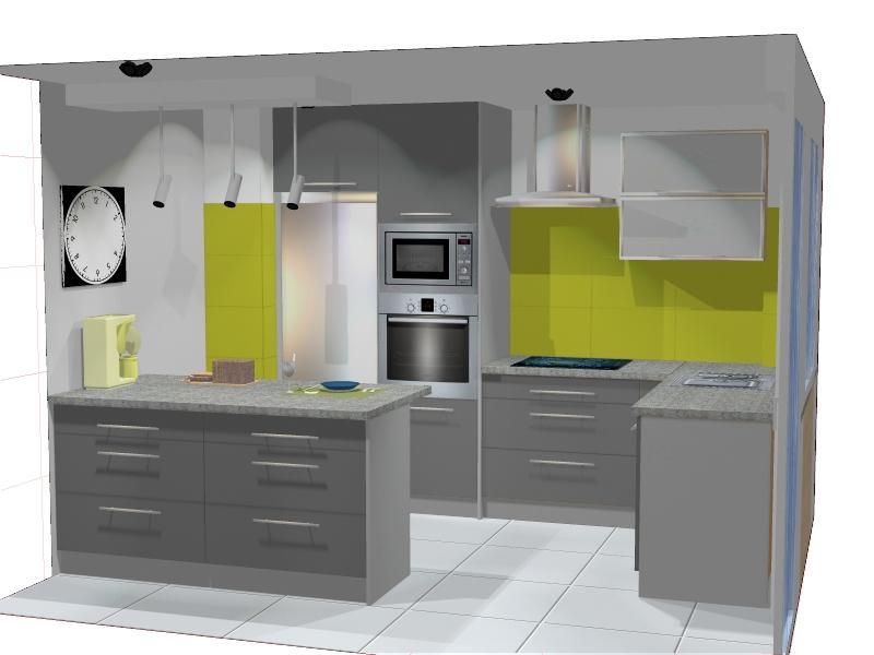Projekty  Meble kuchenne śląsk – Drewdom Kuchnie Będzin, śląsk  Page 3 -> Kuchnia Grafit Mat