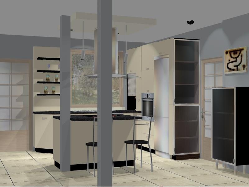 Projekty  Meble kuchenne śląsk – Drewdom Kuchnie Będzin   -> Kuchnia Pomaranczowo Kremowa