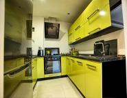 Meble kuchenne śląsk - kuchnia zielony połysk
