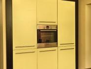 zabudowa lodówki i piekarnika - meble kuchenne śląsk